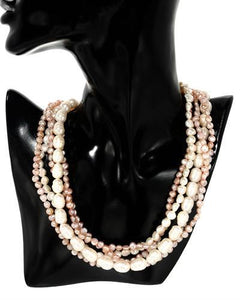 PEARL LUSTRE Brand New Necklace with 0ctw pearl 925 Silver sterling silver
