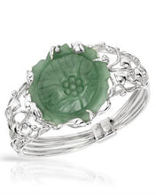Load image into Gallery viewer, Brand New Bracelet with 0ctw jade 925 Silver sterling silver