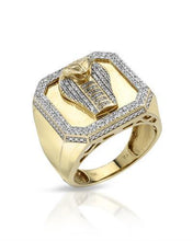 Load image into Gallery viewer, Brand New Ring with 0.55ctw diamond 10K Yellow gold