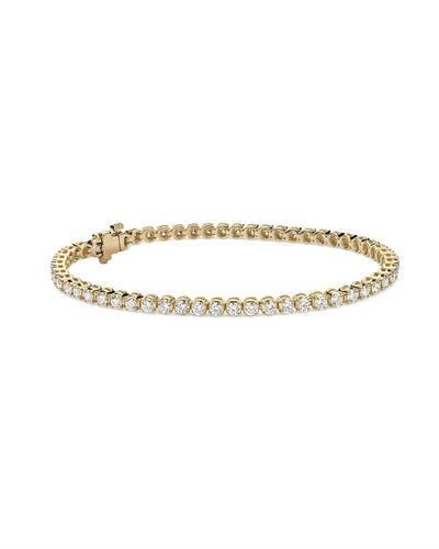 Whitehall LOVERS Brand New Bracelet with 2.76ctw lab-grown diamond 14K Yellow gold
