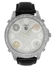 Load image into Gallery viewer, Techno Com by KC Brand New Japan Quartz Watch with 3ctw diamond