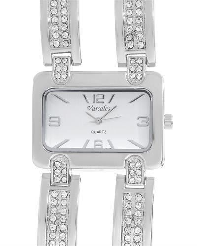 Varsales V4676-1 Brand New Japan Quartz Watch with 0ctw crystal