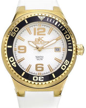 Load image into Gallery viewer, Adee Kaye ak2230SS-LG/WT BEVERLY HILLS Brand New Quartz date Watch