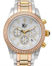 Load image into Gallery viewer, KC WA007509 Brand New Quartz date Watch with 1ctw of Precious Stones - crystal, diamond, and mother of pearl