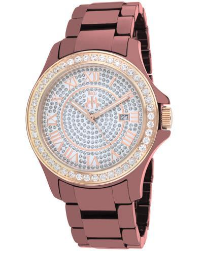 Jivago JV9416 Ceramic Brand New Quartz date Watch with 0ctw crystal