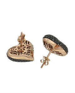 Brand New Earring with 2.7ctw diamond 10K Rose gold