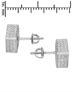 Lundstrom Brand New Earring with 0.37ctw diamond 925 Silver sterling silver