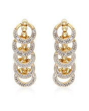 Load image into Gallery viewer, Lundstrom Brand New Earring with 0.4ctw diamond 14K Yellow gold