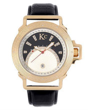 Load image into Gallery viewer, KC WA008478 Brand New Japan Quartz day date Watch with 0.03ctw diamond