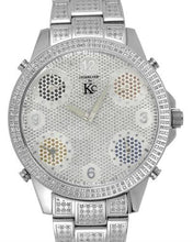 Load image into Gallery viewer, Techno Com by KC Brand New Japan Quartz Watch with 1.5ctw diamond
