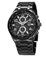 Load image into Gallery viewer, AUGUST Steiner AS8127BK Brand New Swiss Quartz day date Watch