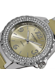 Load image into Gallery viewer, Akribos XXIV AK514BG Brand New Quartz Watch with 0ctw cubic zirconia