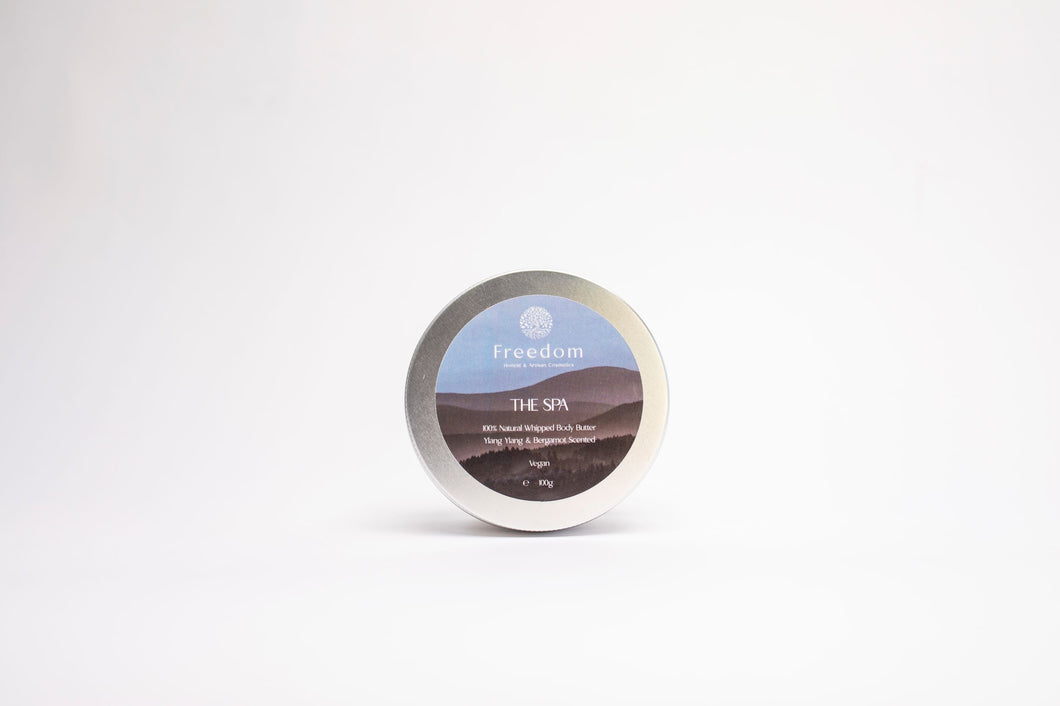 The Spa Natural Body Butter - Ylang Ylang and Bergamot Scented