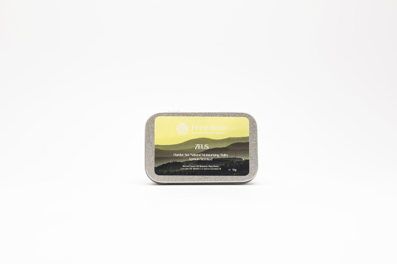 Zeus - Harder Set Natural Moisturising Balm - Lemon Scent