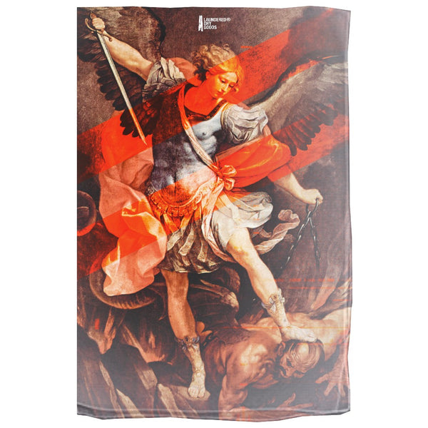 LDG St Michael Printed Sheer Scarf