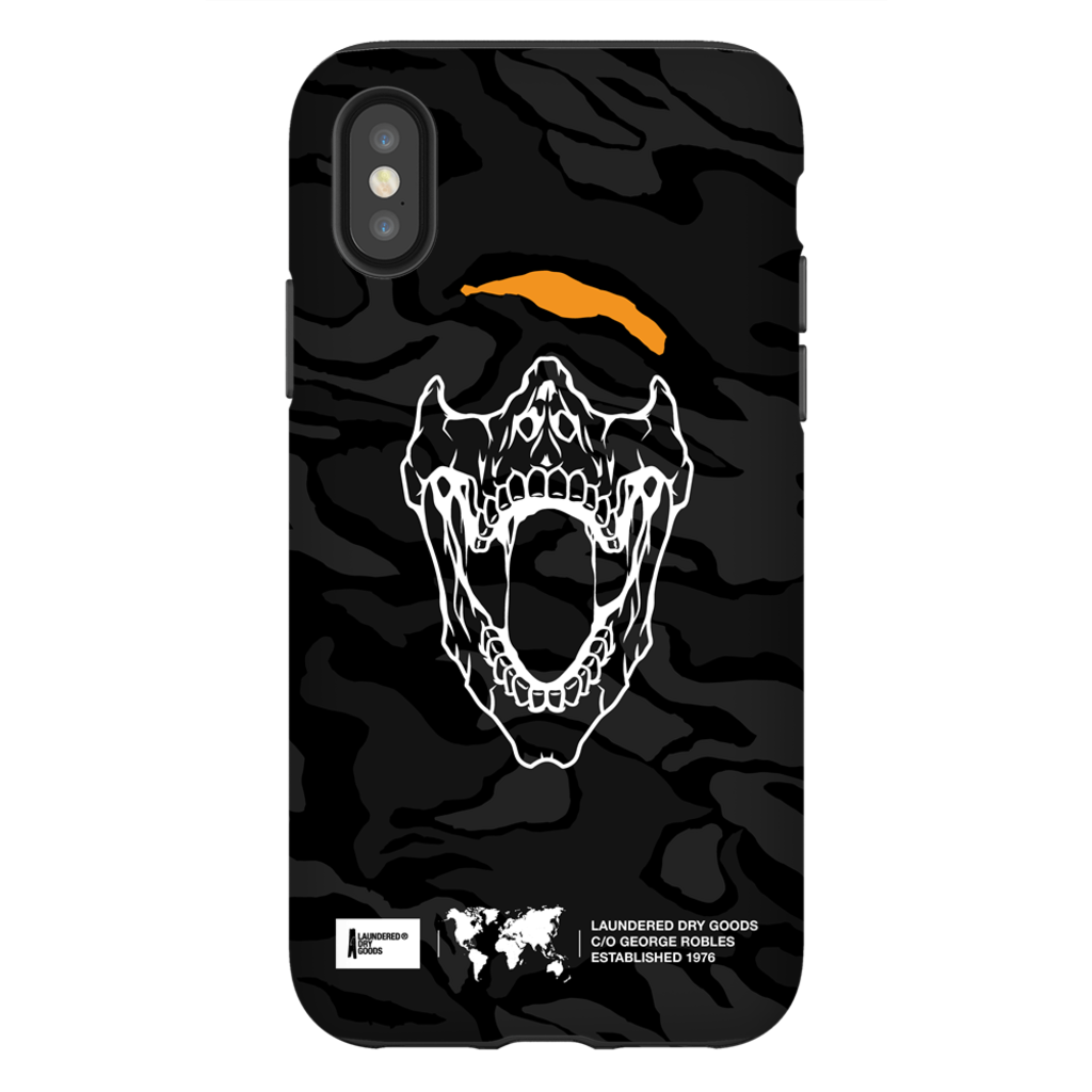 Demons Black Camouflage iPhone Cases