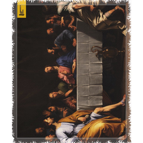 LDG - LAST SUPPER THROW BLANKET