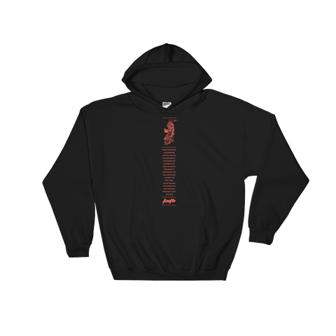 LDG Faith Black Hooded Sweatshirt