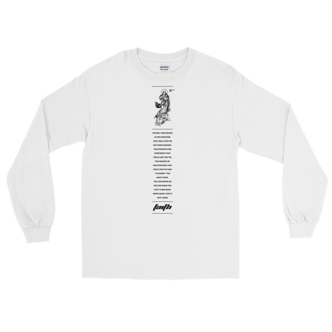 LDG Faith White Long Sleeve T-Shirt