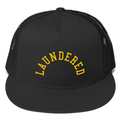 Laundered Arch Trucker Cap