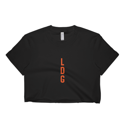 LDG Stack Women's Short sleeve crop top