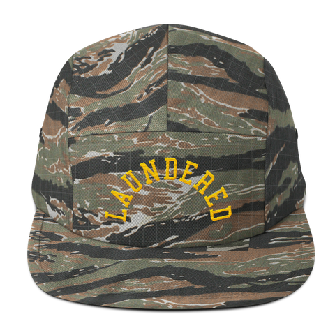 Laundered Arch Five Panel Cap