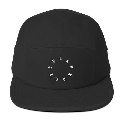 LAUNDERED CIRCLE - Five Panel Cap