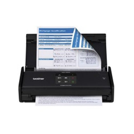Brother ADS-1000W Compact Color Desktop Scanner