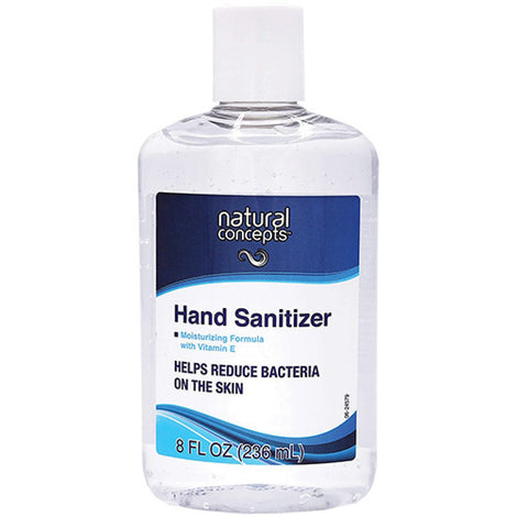 NATURAL CONCEPTS HANDSANITIZER8OZ Hand Sanitizer 8 OZ
