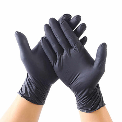 NITRLGL100MD MEDIUM NITRILE GENERAL PURPOSE GLOVE, POWDER FREE 100/BX