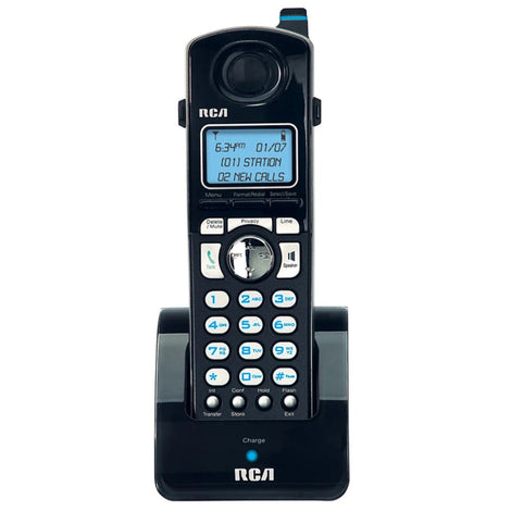 RCA H5401RE1 4-LINE BLK DECT ADDITIONAL HANDSET (RCAH5401)