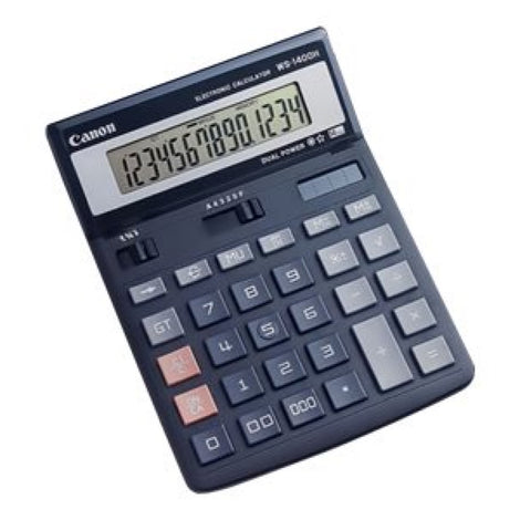 CNMWS1400H Canon WS-1400H - Desktop calculator - 14 digits - solar panel, battery