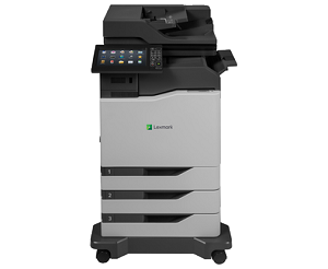 Lexmark CX860DTFE Laser Multifunction Printer-Color(60/60ppm)