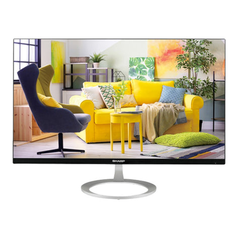 "SHARP 27"" CLASS (27"" DIAGONAL) DESKTOP DISPLAY (LL-B270)"