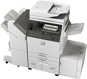Sharp MX-3070V Color Desktop Laser Multifunction Copier (30ppm/30ppm)