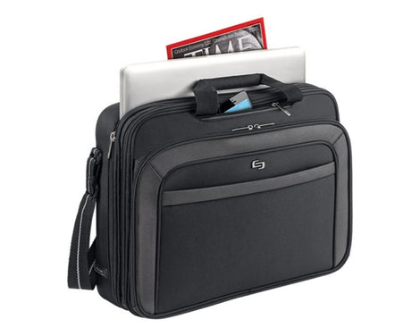"SOLO Sterling Laptop Portfolio CLA314-4 - Notebook carrying case - 17"" - black (USLCLA314-4)"