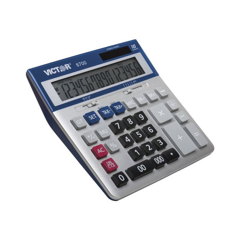 VCT6700 VICTOR 6700 16 DIGIT EXTRA LARGE DESKTOP CALC