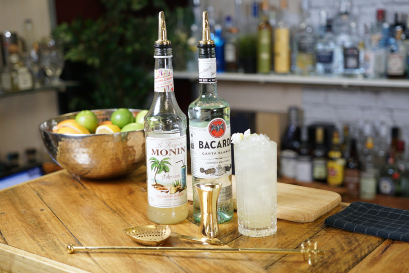 Bacardi Swizzle Cocktail Recipe