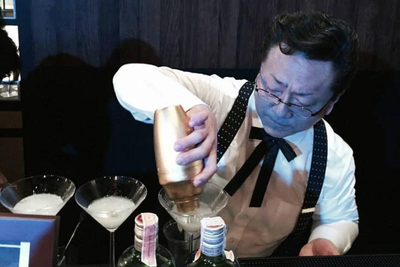 Hidetsugu Ueno Japanese school of bartending blog