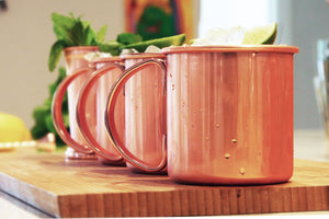 Uberbartools moscow mule mugs for ritual cocktail serves