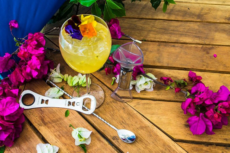 Watch the Passion Flower cocktail video on our Youtube channel