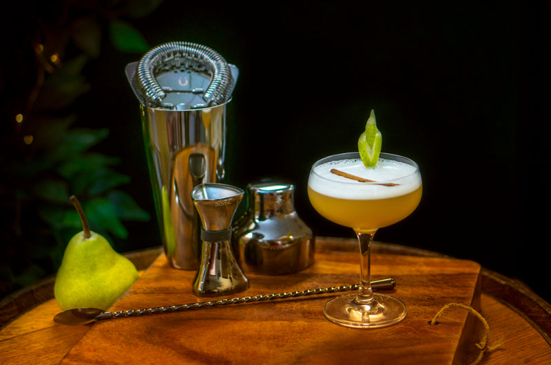 Pear and Cinnamon Sour cocktail recipe