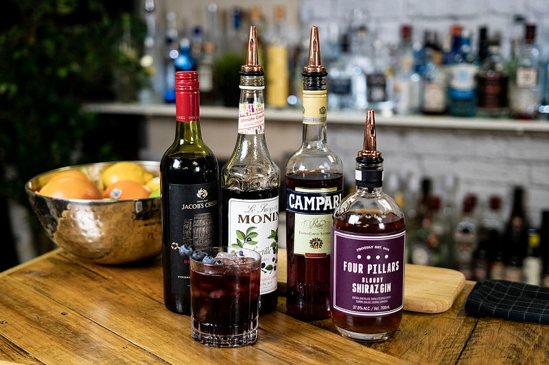 Shiraz Negroni Cocktail Recipe