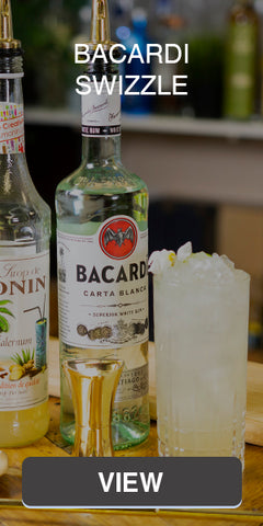 Bacardi Swizzle Cocktail Recipes | Überbartools™