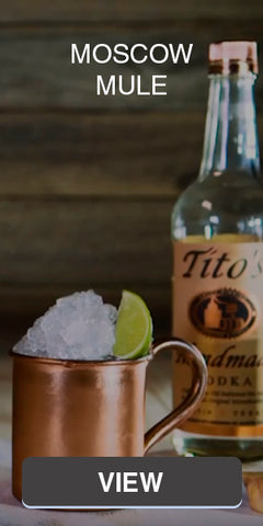 Moscow Mule Cocktail Recipes | Überbartools™