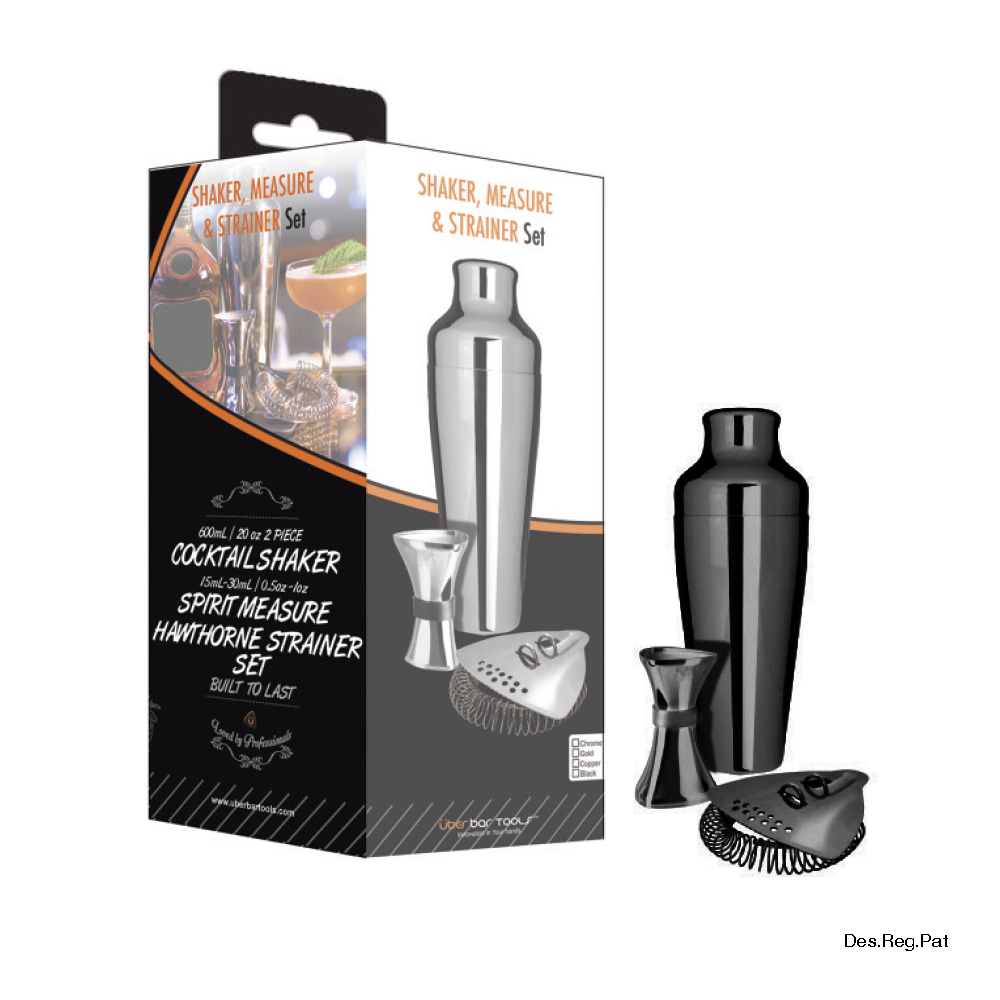 Shake Measure & Strain Pack Platinum Black