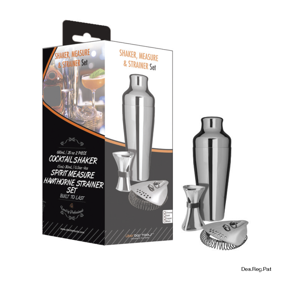 Shake Measure & Strain Pack Chrome