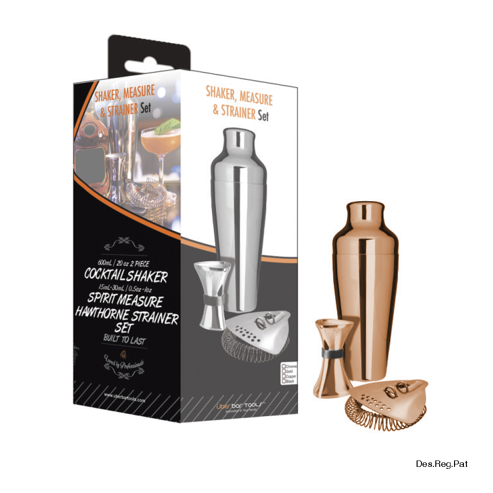 Shake Measure & Strain Pack Copper