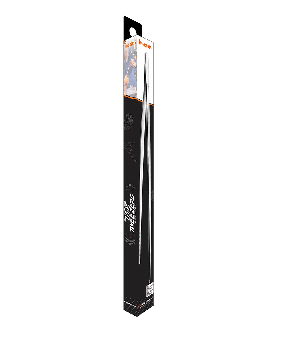 Long Tweezer Platinum Black