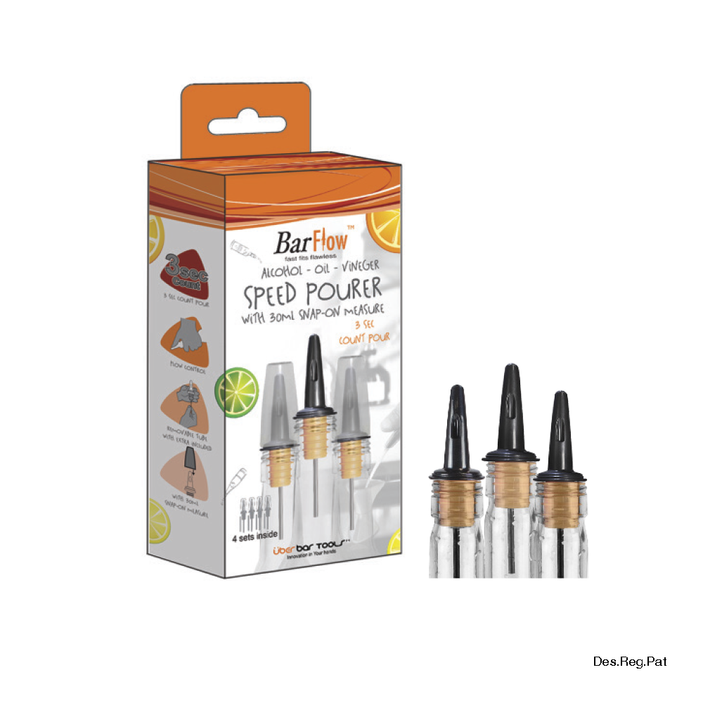 BarFlow™ Pack (4 Pce) with Snap-On Protector